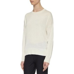 Theory Karenia R high low hem cashmere sweater